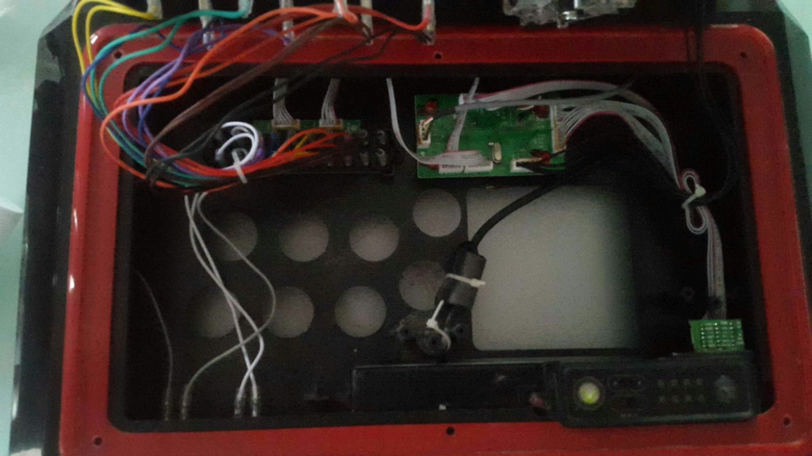 Upgrading An Xbox 360 Te Fightstick To Brook Universal Fighting Usb Wiring Diagram The Quality Madcatz Build